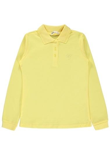 Civil Girls Kız Çocuk Sweatshirt Sarı